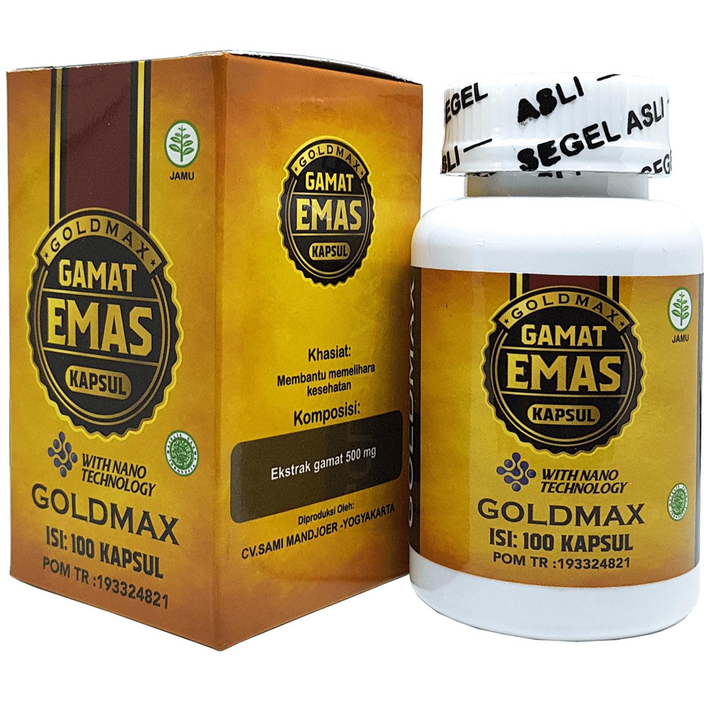 GoldMax Gamat Emas Kapsul
